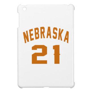 Nebraska 21 Birthday Designs iPad Mini Cases