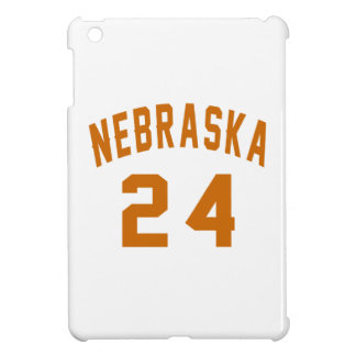 Nebraska 24 Birthday Designs iPad Mini Covers