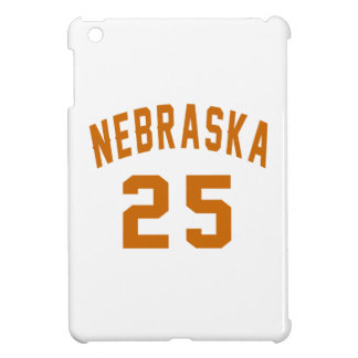 Nebraska 25 Birthday Designs iPad Mini Covers