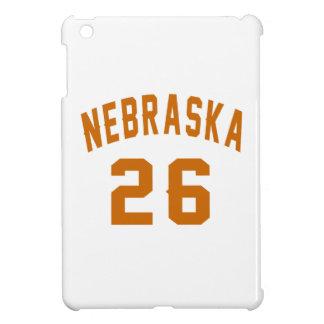 Nebraska 26 Birthday Designs iPad Mini Covers