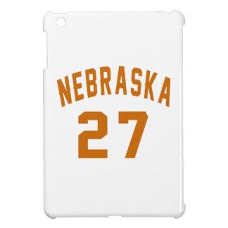 Nebraska 27 Birthday Designs iPad Mini Cases