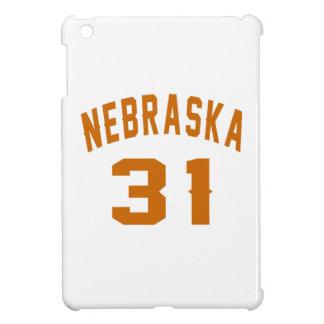 Nebraska 31 Birthday Designs iPad Mini Cases