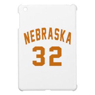Nebraska 32 Birthday Designs iPad Mini Covers