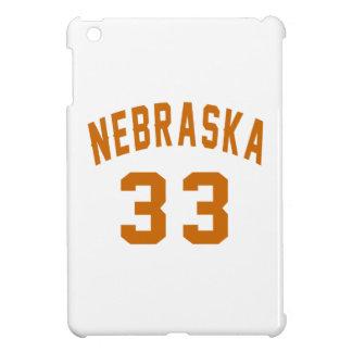 Nebraska 33 Birthday Designs iPad Mini Cover