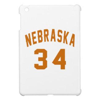 Nebraska 34 Birthday Designs iPad Mini Cover