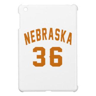 Nebraska 36 Birthday Designs iPad Mini Covers