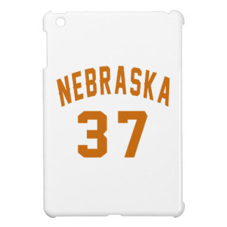 Nebraska 37 Birthday Designs iPad Mini Case