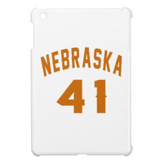 Nebraska 41 Birthday Designs iPad Mini Cover