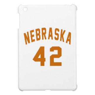Nebraska 42 Birthday Designs iPad Mini Cases