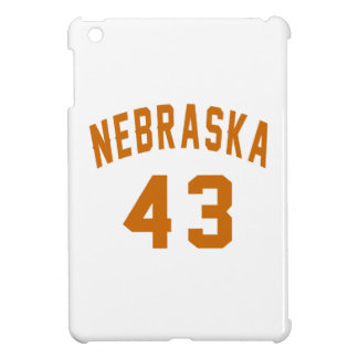 Nebraska 43 Birthday Designs iPad Mini Case