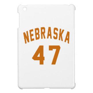Nebraska 47 Birthday Designs iPad Mini Cover