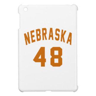 Nebraska 48 Birthday Designs iPad Mini Covers