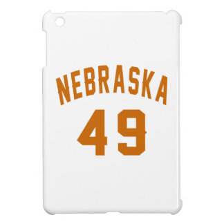 Nebraska 49 Birthday Designs iPad Mini Cover