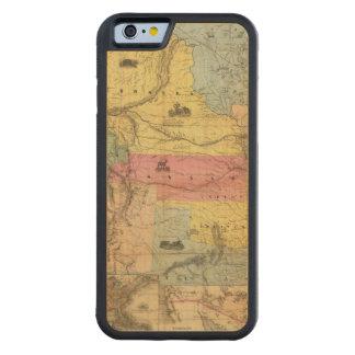 Nebraska and Kansas 2 Carved Maple iPhone 6 Bumper Case