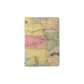 Nebraska and Kansas 2 Passport Holder