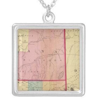 Nebraska and The Dakotas Silver Plated Necklace