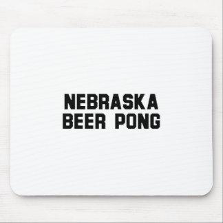 Nebraska Beer Pong Mousepads