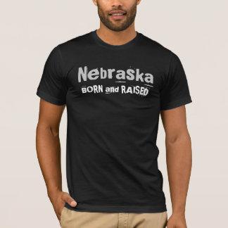 Nebraska BORN and RAISED T-Shirt