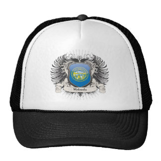 Nebraska Crest Trucker Hats