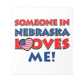 Nebraska designs notepads