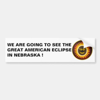 NEBRASKA ECLIPSE BUMPER STICKER