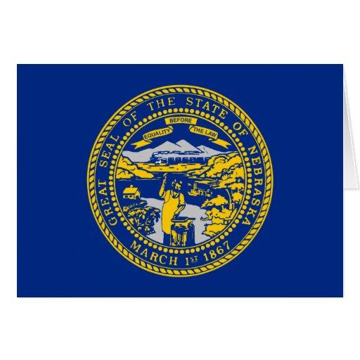 Nebraska Flag Cards