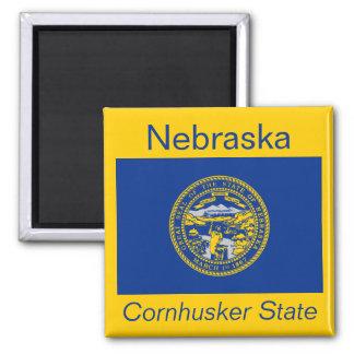Nebraska Flag Magnet