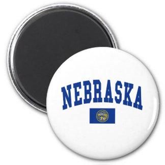 Nebraska Flag Fridge Magnets