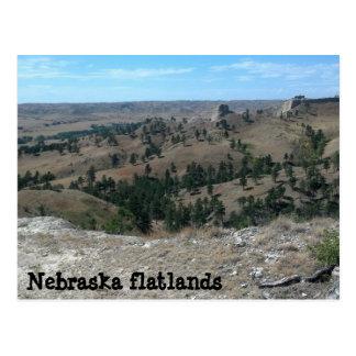 Nebraska flatlands (made ya look) postcard