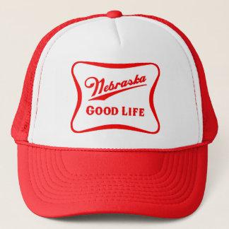 Nebraska Good Life Snapback Trucker Hat
