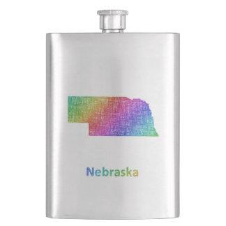 Nebraska Hip Flask
