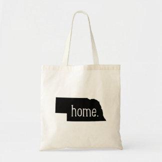 Nebraska Home State Tote Bag