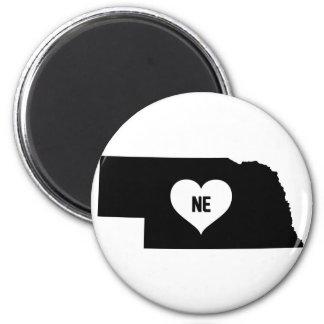 Nebraska Love Magnet