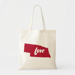 Nebraska Love Tote Bag