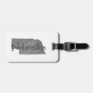 Nebraska Luggage Tag