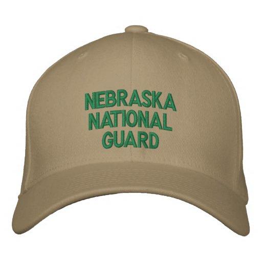 Nebraska National Guard. Embroidered Baseball Caps