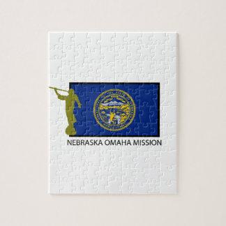NEBRASKA OMAHA MISSION LDS CTR JIGSAW PUZZLE
