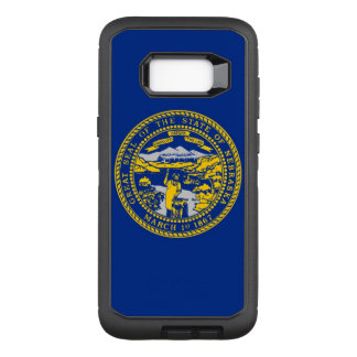 Nebraska OtterBox Defender Samsung Galaxy S8+ Case