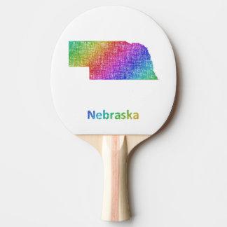 Nebraska Ping Pong Paddle
