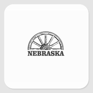 nebraska pioneer square sticker