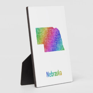Nebraska Plaque