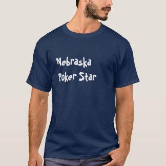 Nebraska  Poker Star T-Shirt