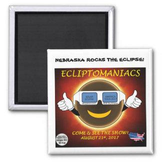Nebraska Rocks The Eclipse! Magnet
