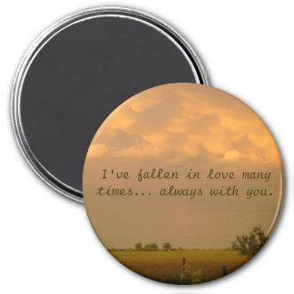 nebraska sky 2, I've fallen in love many times.... Magnet
