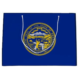 Nebraska State Flag Design Large Gift Bag