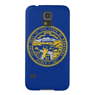Nebraska State Flag Galaxy S5 Covers