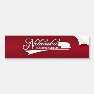 Nebraska State of Mine Bumper Stickers