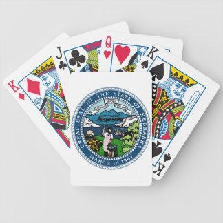 Nebraska State Seal Bicycle Playing Cards