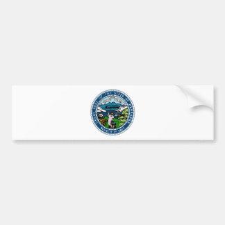 Nebraska State Seal Bumper Sticker