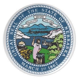 Nebraska State Seal Plate